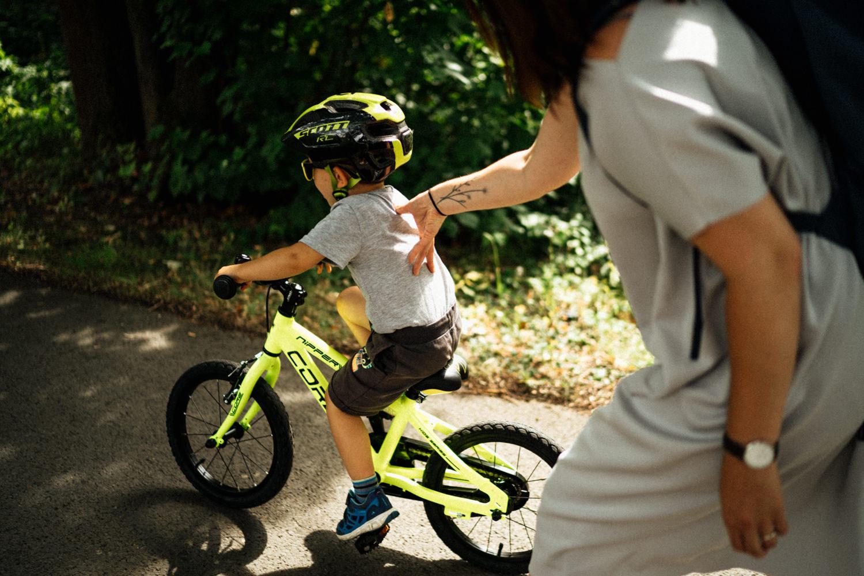 Matyho první bike