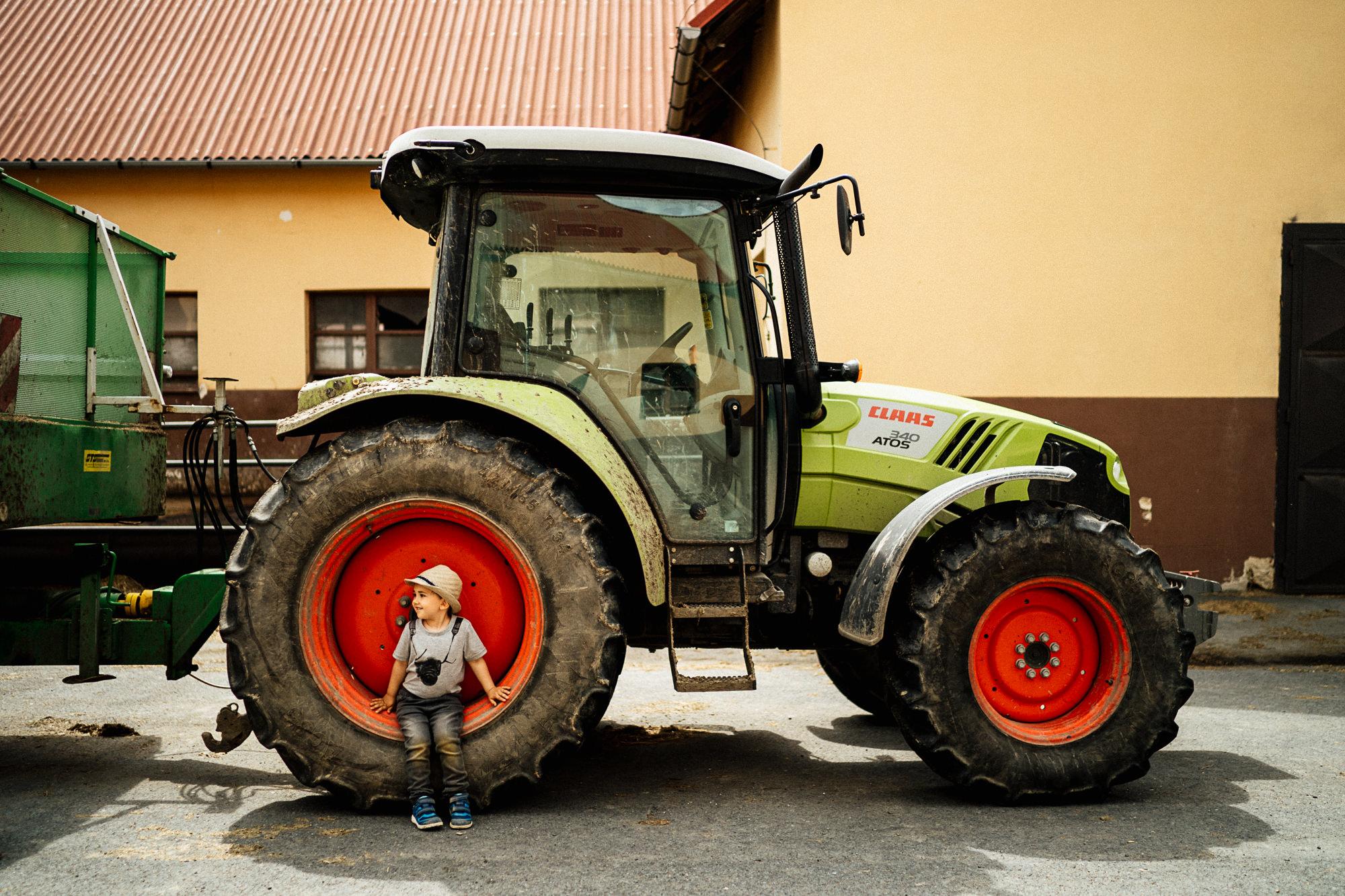 Výlet na farmu Klokočov