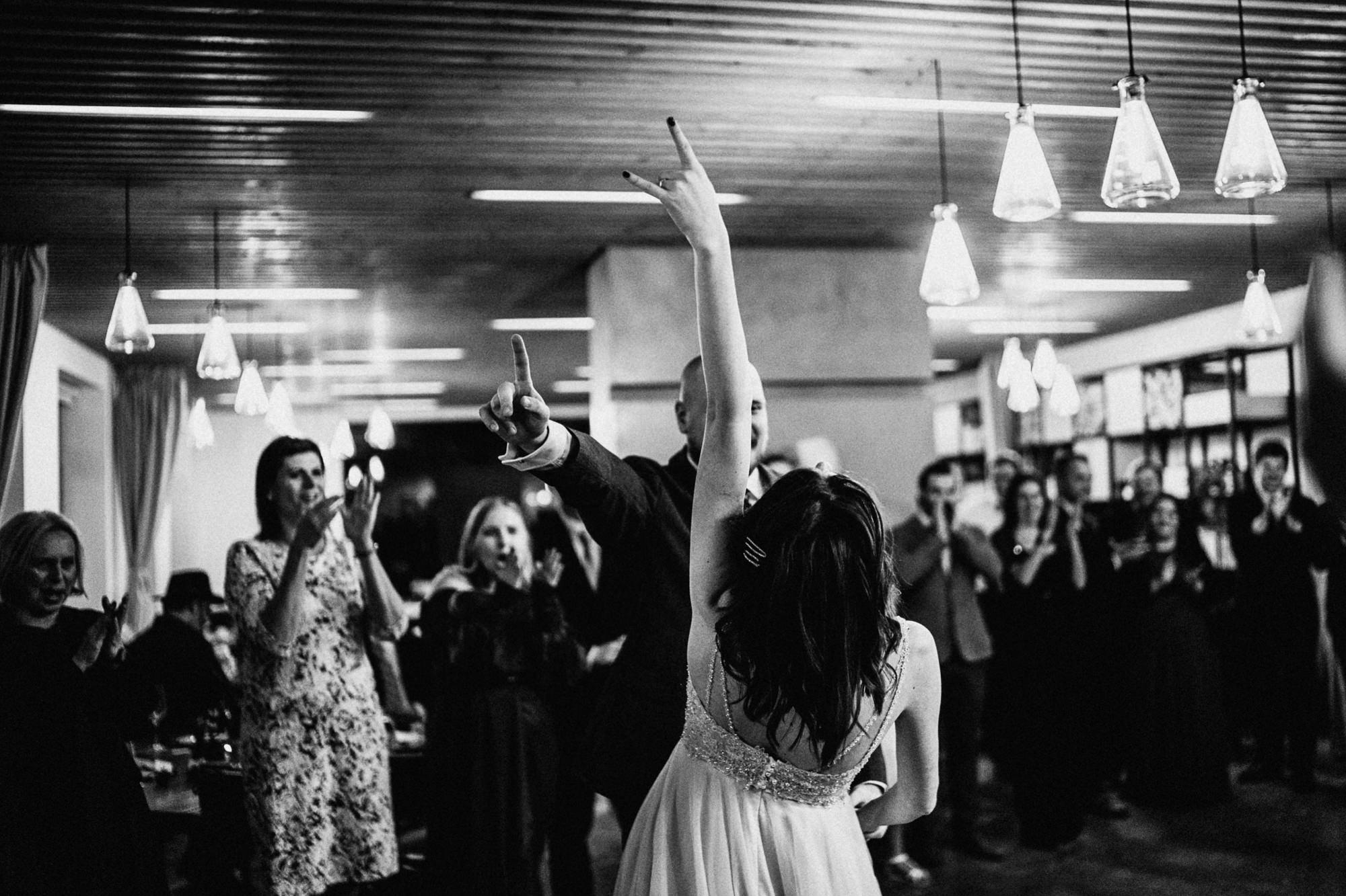 Svatební párty v beskydech
