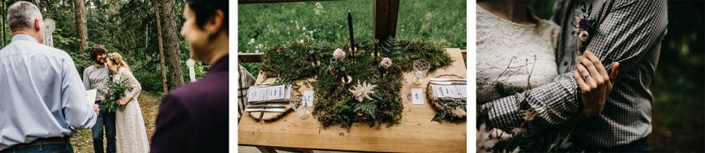 Elopement v Beskydech s obřadem v lese