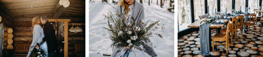 Zimní intimní svatba na čeladné
