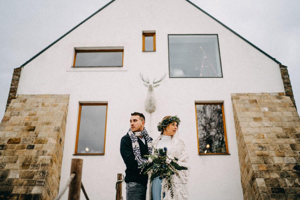 Portrétní focení novomanželů na Zikmundově