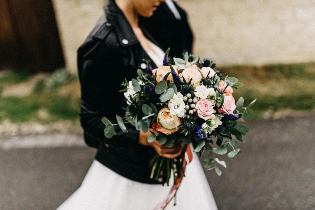 Svatební kytice s eukalyptem